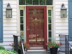 1000 images about glass storm door on pinterest storm for Front doors that let in light