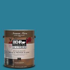 BEHR Premium Plus Ultra 1 gal. #M480-6 Valley of Glaciers Matte Interior Paint