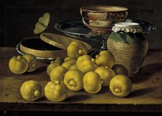 Still life with lemons, Luis Eugenio Meléndez (1716-1780)