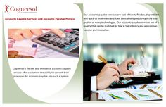 Accounts payable services and accounts payable process by Cogneesol via slideshare
