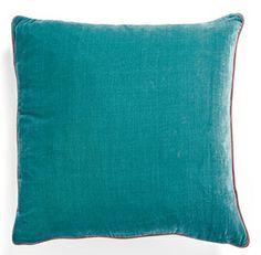Bronwyn Teal Velvet Pillow