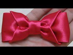 Милые БАНТИКИ из Лент Своими Руками/ DIY Cute Hair Bow / NataliDoma - YouTube