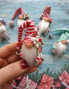 20 Christmas gnome ornaments a quick, delightful craft 00018 - Home . - 20 Christmas Gnome Ornaments A Fast, Delightful Craft 00018 – Home Inspiration – # Adorable - Gnome Ornaments, Diy Christmas Ornaments, Diy Christmas Gifts, Christmas Projects, Christmas Decorations, Santa Gifts, Christmas Wreaths, Nordic Christmas, Christmas Gnome