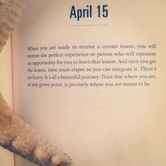 I love reading quotes that reassure you that your on the right path