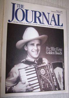 Country Music Journal Mag Pee Wee King Ray Price Johnnie & Jack Hank Penny WWVA