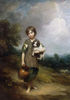 Thomas Gainsborough: 'The Girl from the Cottage' National Gallery of Ireland ( Dublín )