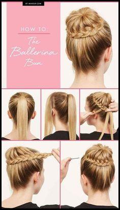 22 Great Braided Updo Hairstyles for Girls - Pretty Designs | Frisuren Tutorials #UpdosHairstylesWithFlowers