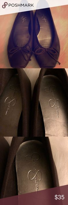 Jessica Simpson brown ballet flats Jessica Simpson brown ballet flats Jessica Simpson Shoes Flats & Loafers