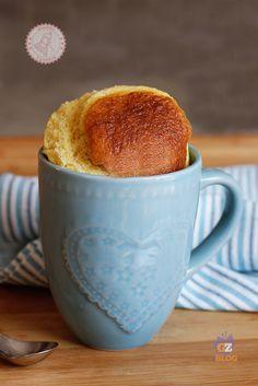 TORTA IN TAZZA ricetta torta veloce microonde in 5 minuti
