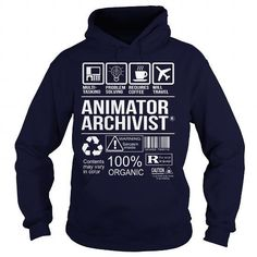Awesome Tee For Animator Archivist T Shirts, Hoodies Sweatshirts. Check price ==► https://www.sunfrog.com/LifeStyle/Awesome-Tee-For-Animator-Archivist-Navy-Blue-Hoodie.html?57074
