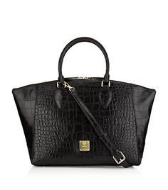 2957337 - MCM: First Lady Croco Tote