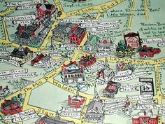 pictorial maps - Google Search