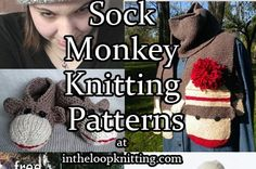 Sock Monkey Knitting Patterns