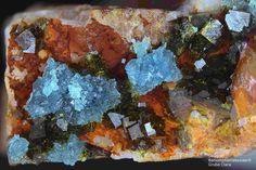 Skorodit, Bariumpharmakosiderit , Clara Mine,Rankach valley, Oberwolfach, Wolfach, Black Forest, Baden-Würtemberg, Germany, Copyright © H. Stoya