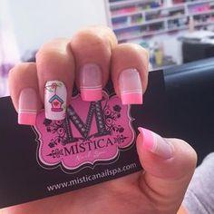Resultado de imagen para mistica instagram Nail Spa, Manicure And Pedicure, Pretty Nails, Nail Colors, Nailart, Finger, Nail Designs, Hair Beauty, Girly