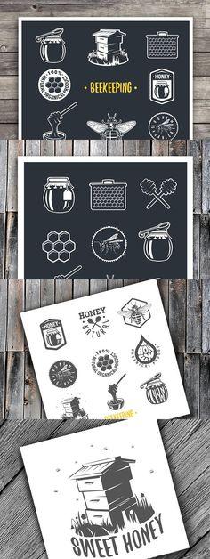 Beekeeping. Web Elements