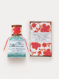 Eau de Parfum - Field & Flowers Perfume | Library of Flowers