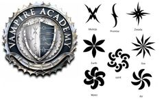 Vampire Academy Elemental Tattoos and Dhampir Marks