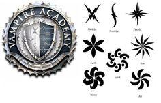 Vampire Academy Elemental Tattoos and Dhampir Marks