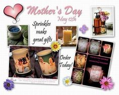 Don't forget about Mother's Day. Mom's love this stuff! Check out all our great products at: https://www.pinkzebrahome.com/SandyDeanKearfott Like my fb page Chance of Sprinkles Michigan