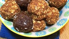 Carson's camping protein balls