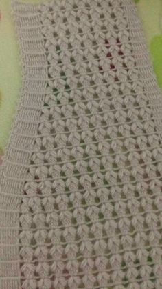 Crochet Stitches Patterns, Baby Knitting Patterns, Crochet Motif, Knitting Stitches, Hand Knitting, Stitch Patterns, Knit Crochet, Blouse Neck Designs, Crochet Tablecloth
