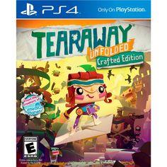 PS4 Tearaway Unfolded; Viaja ahora en tu PS4 por el mundo de papel mas increible de Ps Vita. Tearaway Unfolded llega a Playstation 4 con un nuevo manejo adaptado al mando de PS4 y una forma totalmente diferente de jugar.<br>Tearaway es un mundo basado en