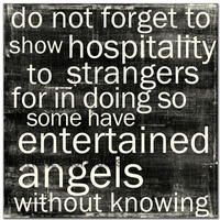 """makes me think of the Newsboys """"Entertaining Angels"""" Great Quotes, Quotes To Live By, Inspirational Quotes, Motivational, Random Quotes, Awesome Quotes, Cool Words, Wise Words, Entertaining Angels"""
