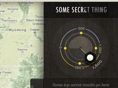 Dribbble - Some Secret Thing by Rally Interactive (via Ben Cline) Ui Elements, Design Elements, Web Design, Ui Patterns, Ui Web, Interactive Map, User Interface, Make You Smile, The Secret