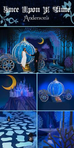 The ideal fairy tale Prom or Homecoming theme, our Once Upon a Time Complete Theme includes all the elements of a storybook romance, complete with a Cinderella coach and an enchanted castle. All you have to provide is the the beautiful princess and handsome prince to live happily ever after.