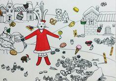 크리스마스에 하늘에서 디저트가 내린다면 #메리크리스마스 #크리스마스 #디저트