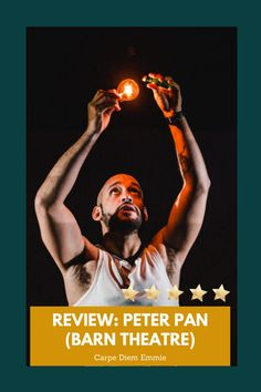 A review of Barn Theatre's Peter Pan on Carpe Diem Emmie. Theatre Reviews, Show Reviews, Play S, Musical Theatre, Carpe Diem, Peter Pan, Musicals, Barn, Movie Posters
