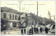 World War 1914-18. Anzin. Cross Anzin to Denain.