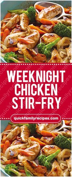 Weeknight Chicken Stir-Fry #weeknight #chicken #stirfry #easyrecipe #delicious #foodlover #homecooking #cooking #cookingtips
