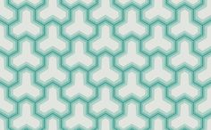 $70 Abstract Design Wallpaper in Teals and Ivory by Antonina Vella - Seabrook Designs | Seabrook Wallpaper | BurkeDecor.com