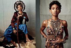 The young Willow Smith gets into the skin of a model for CR Fashion Book