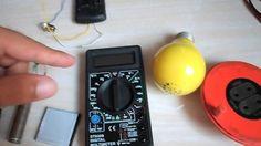 Como usar o multímetro - utilizando todas as escalas (testes + medições)