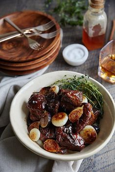 Top Atlanta blog Waiting on Martha teams up with Homespun for another delectable seasonal recipe. This recipe for Bourbon Honey Braised Pork Shoulder ...