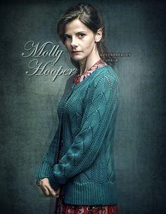 "queenbrealey: "" Louise Brealey as Molly Hooper in Sherlock season 4 promo pics [Edit 2 of ? Sherlock Season 4, Louise Brealey, Molly Hooper, Dresses With Sleeves, Seasons, Long Sleeve, Sweaters, Fictional Characters, Fashion"