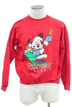 Black Ugly Christmas Sweatshirt 32925 | Ugly Disney Christmas ...
