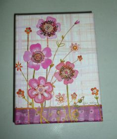 PINK FLORAL FULLY DECORATED BOXED NOTE CARD SET 15 COUNT CARDS + ENVELOPES