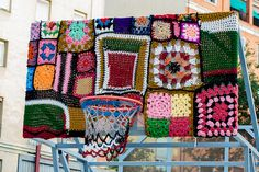 Yarn Bombing/Knitting Graffiti