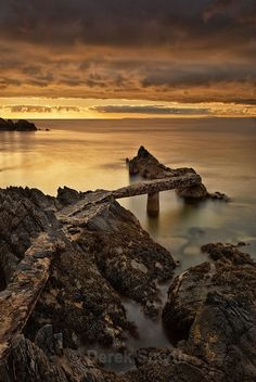 This old jetty is located at the edge of Stroove (Shrove) Beach at Dunagree Point on the Inishowen peninsula in County Donegal.