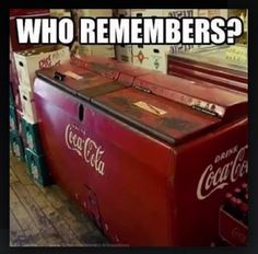 Our little family owned neighborhood grocery store had this. Filled with ice water, crushed ice and all the cold drinks of the 1950s. My sister & I would walk there and get an ice cold (ice formed inside the bottles)drink on a hot summer day for 5cents!