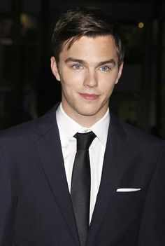 Nicholas Hoult: What a cutie! And such striking blue eyes.