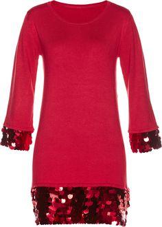 Bonprix Bonprix Damen Premium Pullover mit Pailletten   06926033795178 92faacba60
