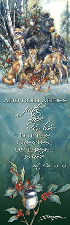 """Multiple Animal Types / Celebrate the Season of Peace"" par Jody Bergsma"