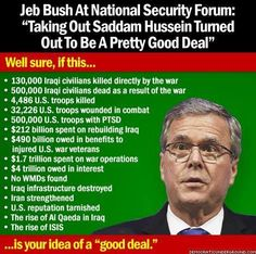 Jeb Bush Quotes Paul Krugman Jeb Bush's Economic Policies Could Turn The Entire .
