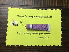 Easy & cheap end of year teacher gift