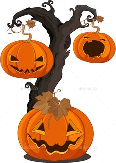Halloween Pumpkin for banners or invitation Halloween Pumpkin for banners or invitation